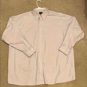 Jos A Bank Dress Shirt - Lavender Color